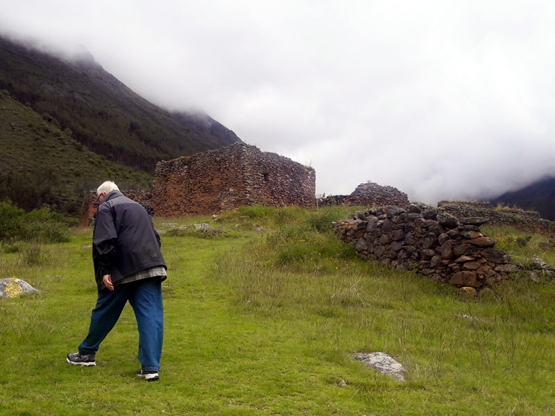 Weight loss trekking peru