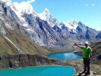 Andes Mountain Climbing Peru