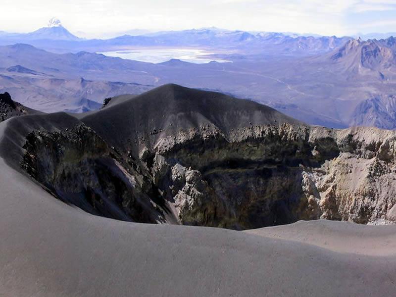 misti volcano summit