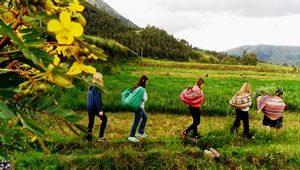 peru village homestay zurite
